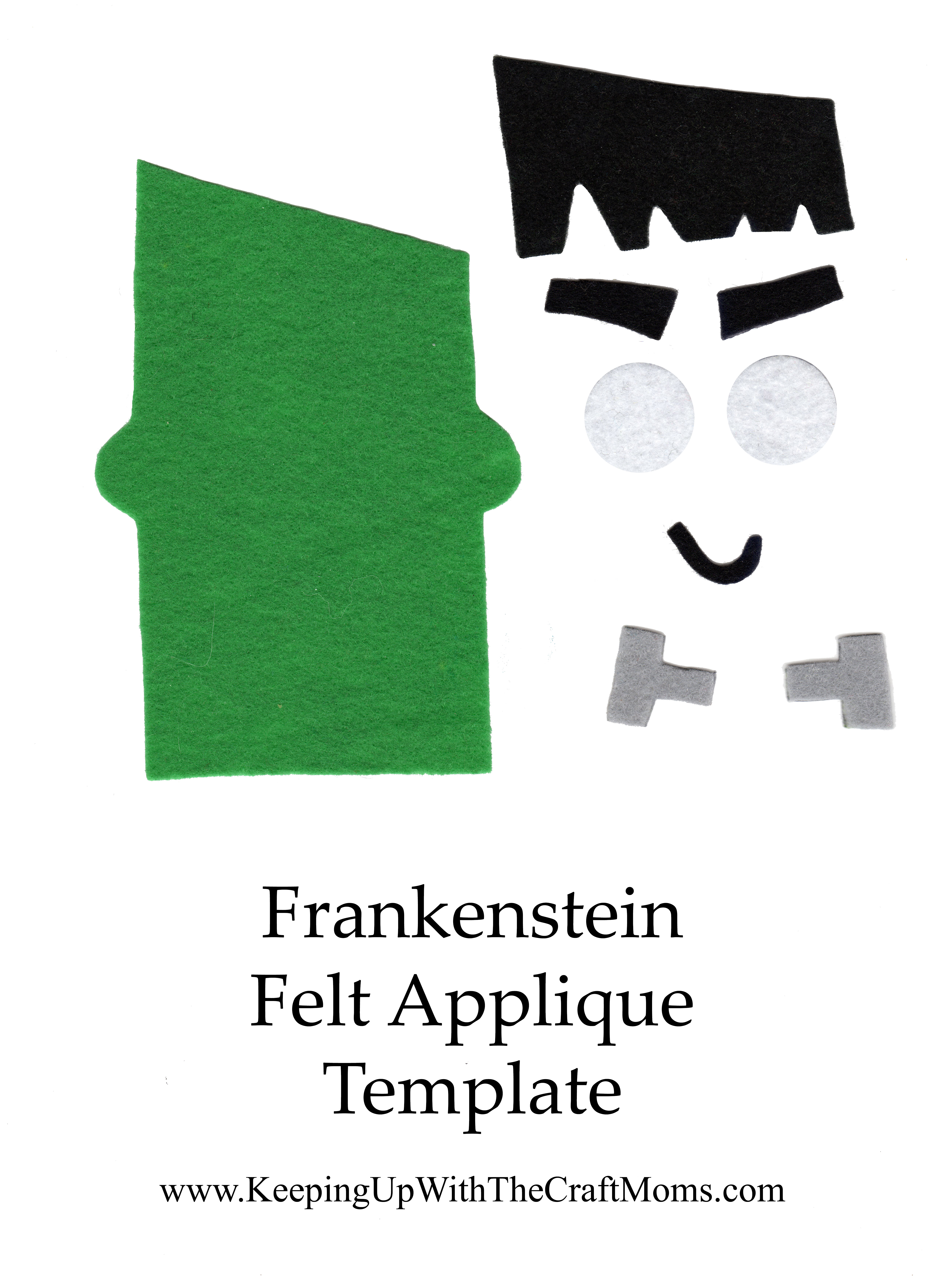 frankenstein applique keepingupwiththecraftmoms